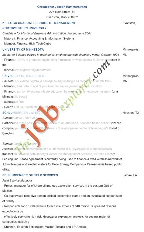 Resume Template For College Students - http\/\/wwwresumecareer - field service manager sample resume