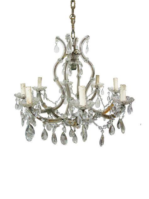Lampadari Antichi Con Gocce Di Cristallo.Maria Theresa Light Vintage Chandelier Crystal Chandelier