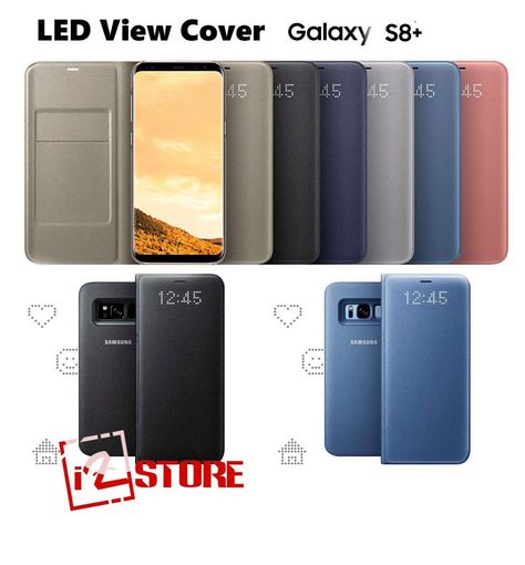 cover samsung s8 plus led