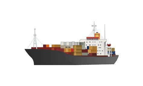 Ship Container Clip Art