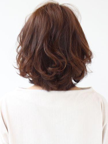 大人の艶髪ミディアムレイヤー ミズ 30代 40代 髪 ミディアム 艶