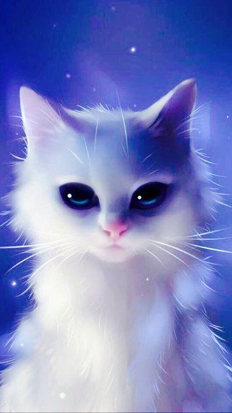 Картинки нарисованных котов на аву