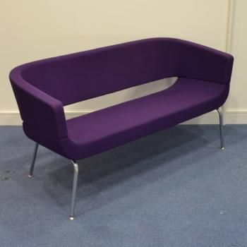 Allermuir Purple Reception Sofa For Your Corporate Office Furniture Pinterest