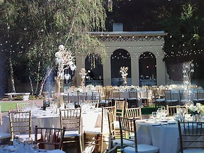 Ambassador Mansions And Gardens Auditorium Pasadena Wedding Location 91105