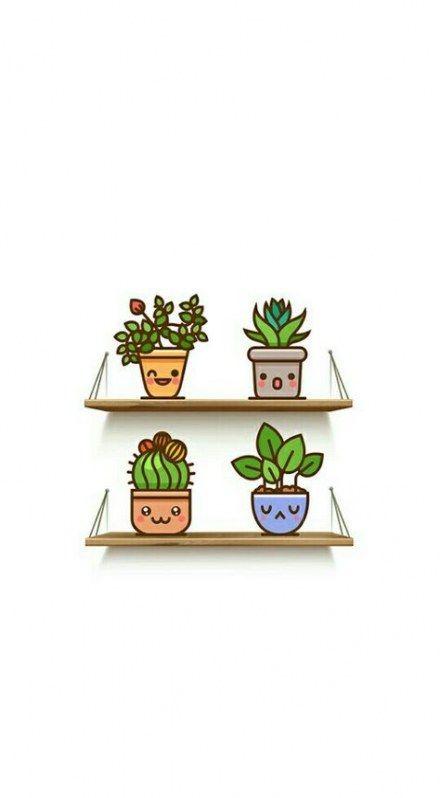 Plants Background Desktop 36 Ideas For 2019 Wallpaper Iphone Cute Kawaii Wallpaper Cellphone Wallpaper