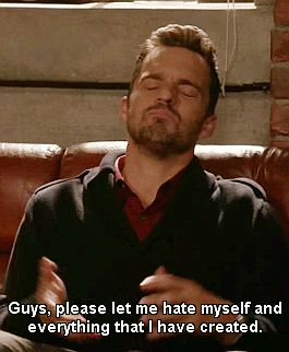 """When he handled his anxiety exactly like the rest of us: 24 Times Nick Miller From """"New Girl"""" Was The Best Character Ever To Appear On Television New Girl Memes, New Girl Funny, New Girl Quotes, Girl Humor, Family Quotes, Big Brother Quotes, Brother Birthday Quotes, Little Boy Quotes, Movie Quotes"""