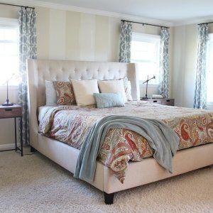 Kari Bed Raymour Flanigan Bed Bedroom Headboard Home Bedroom