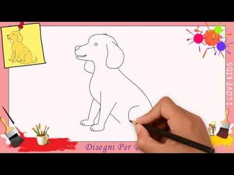 Disegno Di Un Cane Facile.Disegni Di Cane 2 Come Disegnare Un Cane Facile Passo Per Passo