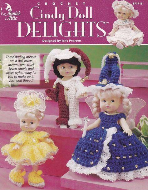 Crochet Debbie Ann/'s Lavender /& Lace Outfit  OOP Annie/'s Attic