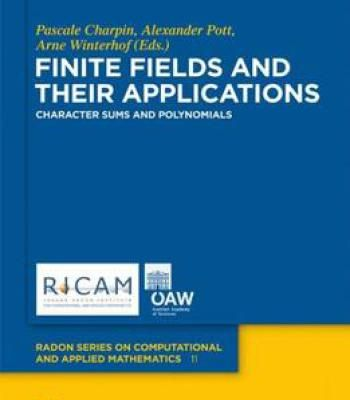 Finite Fields And Their Applications Pdf Mathematics Polynomials Application