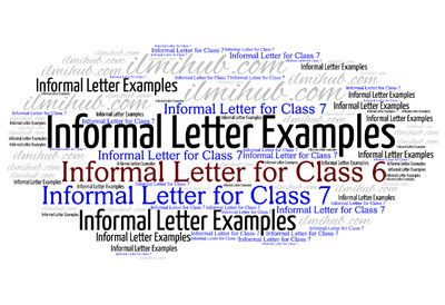 Top 14 Informal Letter Writing Topics For Class 6 And 7 With