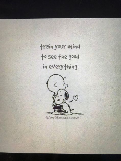 See the good. #charliebrown #peanuts