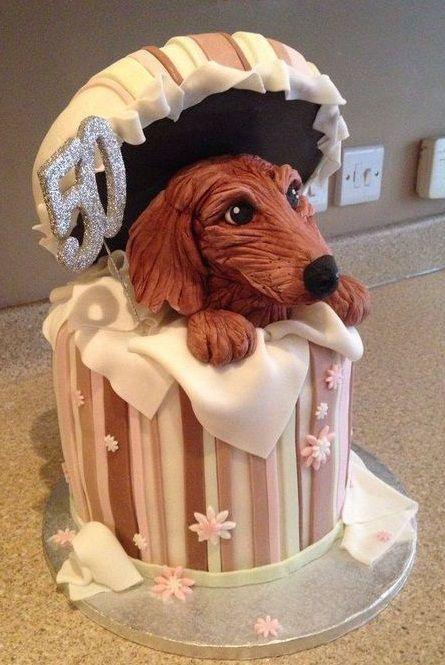 Dachshund Cake Dachshund Dogcake Dachshund Dog Themed Cakes Dog