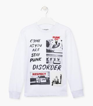 Camiseta En Tejido De Algodon De Manga Larga Mangas Largas Catalogos De Ropa Ropa De Otono