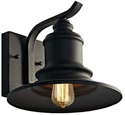 Motini 1light Outdoor Wall Sconce Barn Light Fixture Farmhouse Vintage Style Wall Light With Black Fini In 2020 Outdoor Wall Lighting Barn Lighting Barn Light Fixtures
