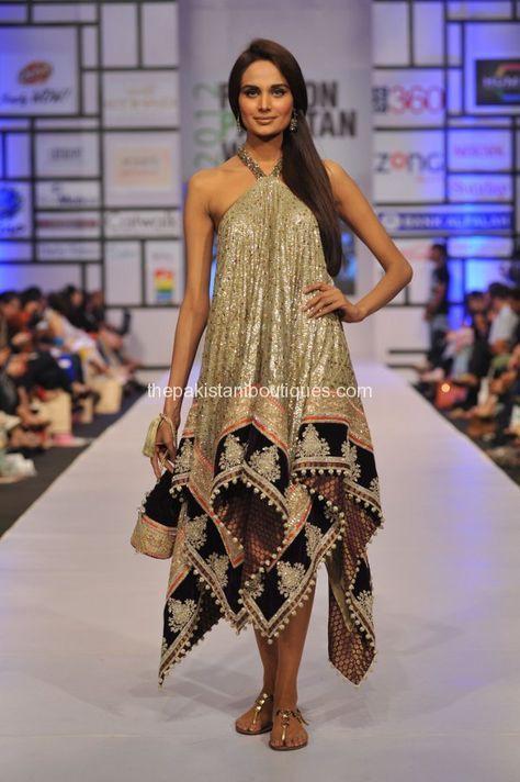 Pakistan Fashion Week kicked off on April 2012 in Karachi. Prestigious designers such as Bunto Kazmi, Maheen Khan, Umar Sayeed, and Nomi Ansari have taken part in fashion week.