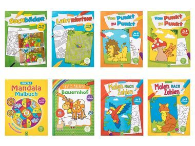 Mehr Spass Am Spielen Ab 20 01 Lidl De In 2020 Kinderbucher Feinmotorik Fur Kinder Ratsel Fur Kinder