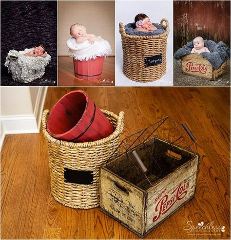 How to find newborn photography props without going broke. | Everyday Elements