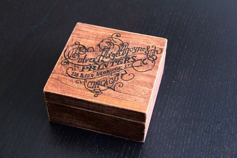 box with graphic