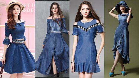 Buy Online - New arrival Women's Party Casual Denim Dresses