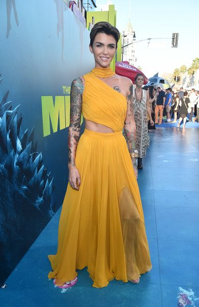 Ruby Rose attends the premiere of Warner Bros. Pictures and Gravity pictures' 'The Meg' at TCL Chinese Theatre IMAX.