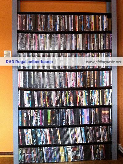 DVD & Blu-ray Regal selber bauen und gestalten | Dvd regal ...