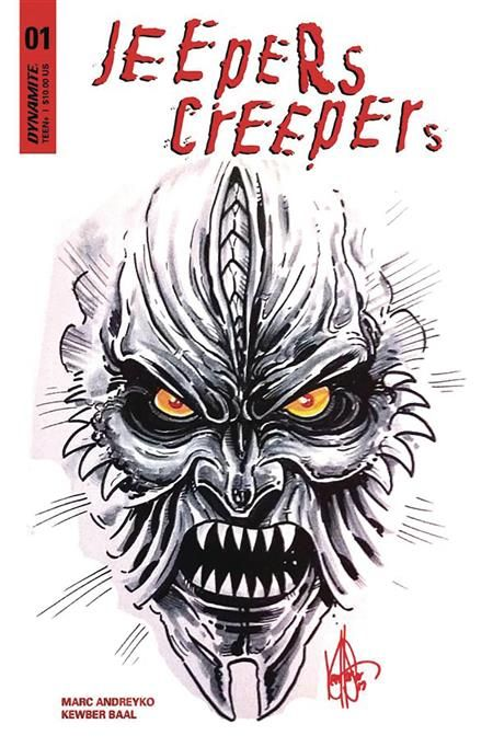 Jeepers Creepers 1 Dynamite Sketch Cover Edition By Ken