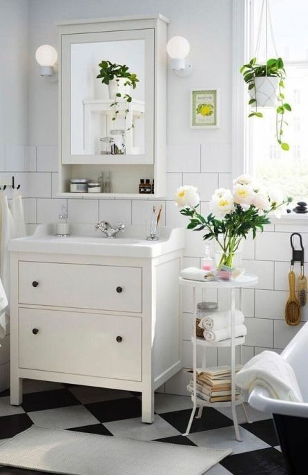5 Easy Bathroom Updates You Can Do Yourself On A Budget Amenager Petite Salle De Bain Meuble Salle De Bain Ikea Salle De Bain Ikea