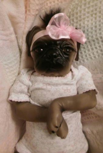 Reborn Doll Pug Puppy Pug Puppies Pugs Puppies