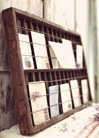 Diy Postcards Holder Presentoir Carte Postale Porte Carte