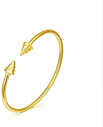 e05cdd1d775 GOWE 24k Pure Gold Bangle For Women Solid 999 Real Girl Miss Lady ...