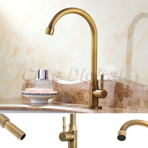 Aliexpresscom Buy Antique Brass Luxury Bathroom Sink Faucet