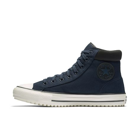 c8bbf23acfbd93 Converse Chuck Taylor All Star Shield Canvas PC High Top Boot Size 10.5  (Blue) - Clearance Sale