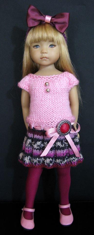 "Effner Little Darling Doll 13 """