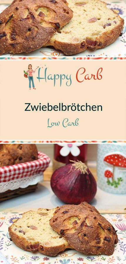 Photo of Low-Carb-Zwiebelbrötchen – Happy Carb Rezepte