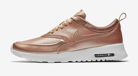 Wunderschöner Nike Air Max Thea Bronze Damen Sneaker Schuhe