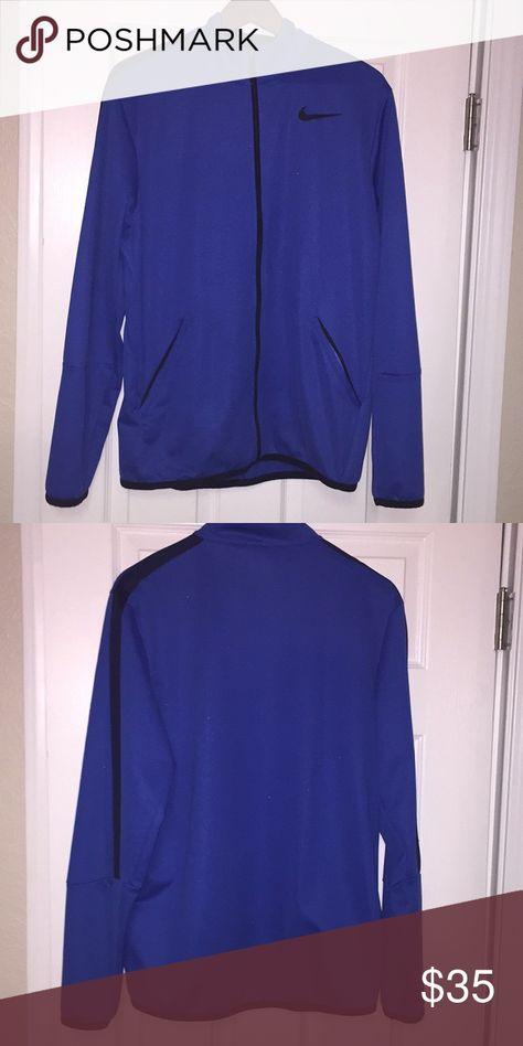 d8e7e7c4e0e3 Nike Athletic Jacket NIKE Unisex Jacket ATHLETIC Blue and Black Great  Condition 😊 (Like New) Medium Nike Jackets   Coats Performance Jackets