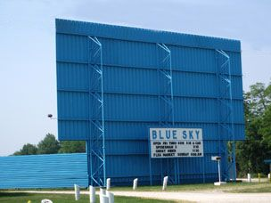 Blue Sky Drive In Wadsworth Ohio