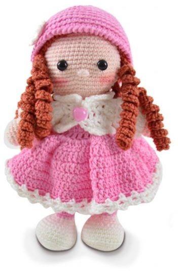 Boneca De Croche Com Receita Passo A Passo Amigurumi Com Receita