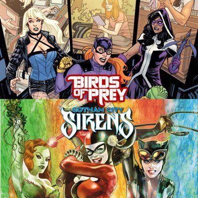 Gotham City Sirens Birds Of Prey Prey Birds Of Prey Gotham City