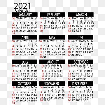 Calendrier Vertical De 2021 Ans, Calendrier, 2021, Créatif Fichier