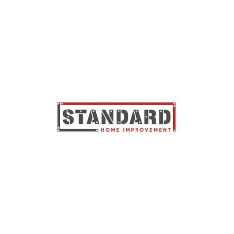 Standard Home Improvement Create A Simple Logo For Renovation