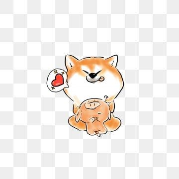 Cute Animal Shiba Inu Cartoon Expression Pack Available For Commercial Use Lovely Animal Shiba Inu Png Transparent Clipart Image And Psd File For Free Downlo Shiba Inu Cute Animals Cartoon Expression