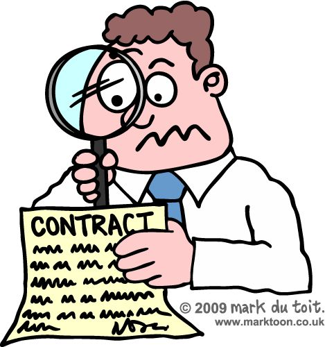 Best Specific Contract Clauses Images On