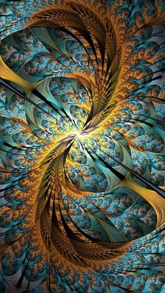 Wallpaper Iphone 11 Wallpaper Hd Wallpaper Fractal Art Fractals Abstract