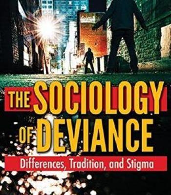 The Sociology Of Deviance PDF | Sociology | Sociology