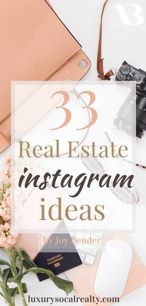 Real Estate Instagram Ideas//Real Estate Instagram Posts//Real Estate Instagram Social Media//Real Estate Instagram Content//Real Estate Instagram Marketing//Learn about real estate Instagram and the best way as a real estate agent to use Instagram for marketing by Joy Bender Compass Realtor® by San Diego real estate agent Joy Bender Comass