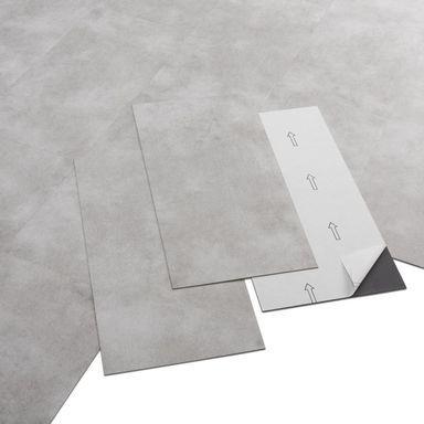 Panele Winylowe Shy Light Grey Artens Panele Podlogowe Winylowe W Atrakcyjnej Cenie W Sklepach Leroy Merlin Pvc Adhesive Pvc Adhesive