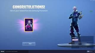 How To Get The Fortnite Galaxy Skin For Free Not Clickbait 100 Free Galaxy Fortnite Skin