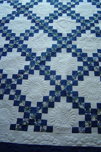 Irish Chain Quilt Pattern For Baby Irish Chain Baby Quilt Pattern Free Double Irish Chain Pattern I Irish Chain Quilt Pattern Irish Quilt Irish Quilt Patterns